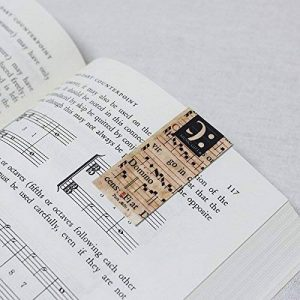 Marque-page magnétique - Musique St Cecilia - Cadeau musique de la marque Anne Fuzeau Création image 0 produit