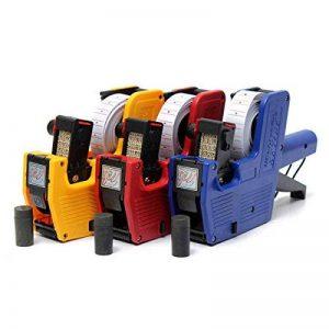 MASUNN Prix Gun Kit étiqueteuse avec 2 étiquettes D'Encre de Rechange avec étiquettes 400 - Bleu de la marque MASUNN image 0 produit