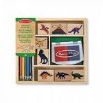 Melissa & Doug - Tampons encreurs Dinosaures - , Caoutchouc - 11633 de la marque Melissa & Doug image 1 produit