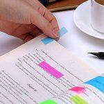 MIHOUNION 700 Pcs Notes Autocollantes en 7 Couleurs 3 Formes Marque-pages Adhésifs Écrite Marquer les Signets pour le Bureau, la Maison, l'Apprentissage de la marque MIHOUNION image 3 produit