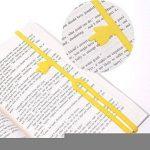 MMY-5 Pcs Fingerprint Bookmark Line marqueur Mignon Signet Marque-pages de Doigt en Silicone Elastique Livre Papier de la marque MMY image 3 produit