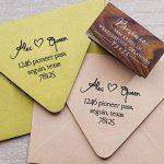 Monté en bois personnalisé Save The Date Tampon personnalisé Timbre pour mariage Cadeau de mariage de la marque Printtoo image 2 produit