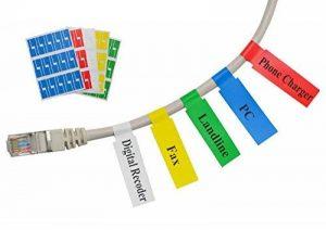 Mr-Label Auto-adhésif autocollant Étiquette de câble - étanche | Résistant à la déchirure | Durable - avec en ligne gratuit outil d'impression de la marque Mr-Label image 0 produit