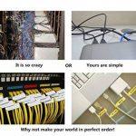 Mr-Label® Auto-adhésif autocollant Étiquette de câble - étanche   Résistant à la déchirure   Durable - Avec l'outil d'impression en ligne - pour imprimante laser (20 Feuilles (600 Étiquettes))(10 Couleurs assorties) de la marque Mr-Label image 2 produit