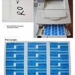 Mr-Label® Auto-adhésif autocollant Étiquette de câble - étanche   Résistant à la déchirure   Durable - Avec l'outil d'impression en ligne - pour imprimante laser (20 Feuilles (600 Étiquettes))(10 Couleurs assorties) de la marque Mr-Label image 4 produit