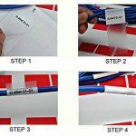 mr-label self-laminating en vinyle adhésif imprimable Câble label-a4Feuille 25 Sheets (675 Labels) 5 Assorted colors de la marque Mr-Label image 2 produit