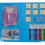 'Multiprint 08883, appareil pour autocollants avec tampons de La reine des neiges disney, 23pièces, multicolore de la marque Multiprint image 4 produit