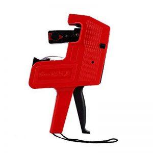 MX-5500 Etiquette de prix Etiquette de pistolet 8 chiffres ( Couleur : Rouge ) de la marque Yosoo image 0 produit