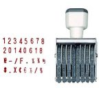 MyLifeUNIT 8chiffres en caoutchouc Nombre timbres, personnages de 5mm de la marque MyLifeUNIT image 4 produit