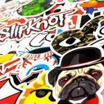 Neuleben Autocollant Lot (200-pcs) Graffiti Autocollant Stickers vinyles pour ordinateur portable, enfants, voitures, moto, vélo, Skateboard bagages, Bumper Stickers hippie autocollants Bomb étanche. de la marque Sanmatic image 3 produit