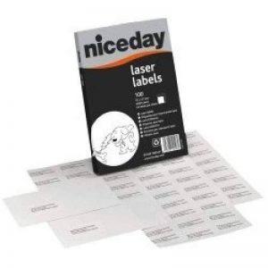 Niceday Laser Étiquettes différentes tailles, A4 1 Per Sheet de la marque Niceday image 0 produit
