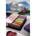 Notes repositionnables megabox 2000 feuilles étiquettes autocollantes en 11 couleurs 3 formats, pliantes en cuir-avec pochette plastique de la marque Libetui image 2 produit