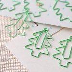 OVVO Simple 6 Pcs/Set Sapin de Noël Marquer Page Marker Paperclip Papeterie Matériel d'apprentissage de la marque OVVO image 3 produit