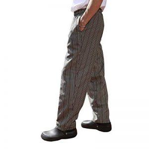 Pantalon de cuisine chef professionnel homme de la marque Chefs apparel image 0 produit