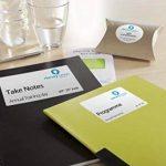 papier étiquettes autocollantes transparentes TOP 8 image 1 produit