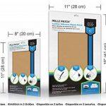 Pièce adhésive de réparation de cuir et vinyle (Beige) de la marque Pelle Patch image 3 produit