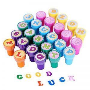 PIXNOR Tampons Lettres Sceau Alphabet Encre Cachet Tampon Artisanat Enfant Jouet (A à Z) - 26 pièces de la marque Pixnor image 0 produit