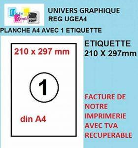 planche étiquette TOP 3 image 0 produit