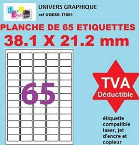 planche étiquette TOP 6 image 0 produit