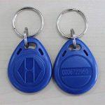 Porte-clés NFC 125KHZ TK4100 Porte-clés Badge ID ID della Prossimità Porte-clés Keyfob de la marque Mengonee image 4 produit