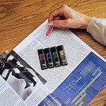 Post-it Marque-pages Fleches 4 x 24 Feuilles - Rouge, Vert, Bleu, Jaune de la marque 3M image 4 produit