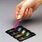 Post-it Marque-pages Fleches - Coloris Assortis - Lot de 4 x 24 Feuilles de la marque 3M image 1 produit