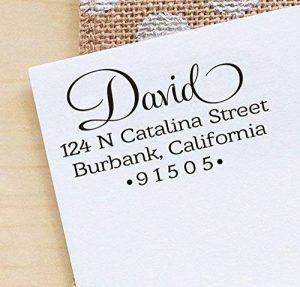 Printtoo Personnalise Auto Encrage Invitation De Mariage Personnalise Adresse Rubber Stamp Gift Idea de la marque Printtoo image 0 produit