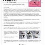 Printtoo Personnalise Invitation Annoucement Auto Encrage Adresse Cachet en caoutchouc de la marque Printtoo image 2 produit