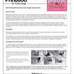 Printtoo sur mesure Stamp COMPTABILISE auto Encrage caoutchouc Bureau philatélique fixe-Rouge de la marque Printtoo image 2 produit
