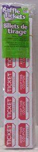 Rouge des billets de loterie 250graines Prefolded–Made in USA. de la marque Tickets image 0 produit