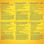 rouleau étiquettes autocollantes TOP 1 image 1 produit