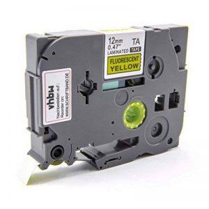 Ruban Cassette Cartouche vhbw 12mm Jaune pour Brother P-Touch 1180HK, 1190, 1200, 1200S, 1230PC, 1250, 1250CC comme TZ-C31, TZE-C31 de la marque vhbw image 0 produit