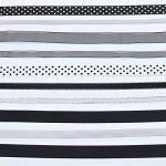 ruban noir et blanc TOP 7 image 2 produit
