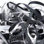 ruban noir et blanc TOP 7 image 4 produit