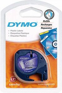 ruban pour étiqueteuse dymo letratag TOP 3 image 0 produit