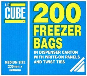 Sacs de congélation 235x 380mm. Quantité, boite: 200. de la marque MATERIEL CHR PRO image 0 produit