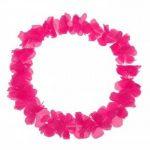 Schramm Onlinehandel Paquet de 10 colliers de fleurs hawaïens unis rose vif de la marque Schramm Onlinehandel image 3 produit