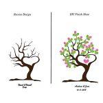 Shi18sport DIY Empreinte Empreinte Digitale Peinture personnalisée, Peinture décorative pour Nouveau-né, Mariage Anniversaire créatif Empreintes digitales 60x80cm de la marque Shi18sport image 1 produit