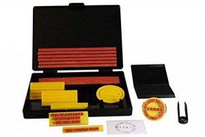 Shiny S-200 Kit tampon encreur personnalisé Hauteur de caractère 4 mm et 5 mm (Import Royaume Uni) de la marque Shiny&Shiny image 0 produit