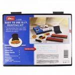 Shiny S-200 Kit tampon encreur personnalisé Hauteur de caractère 4 mm et 5 mm (Import Royaume Uni) de la marque Shiny&Shiny image 1 produit