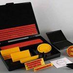 Shiny S-200 Kit tampon encreur personnalisé Hauteur de caractère 4 mm et 5 mm (Import Royaume Uni) de la marque Shiny&Shiny image 2 produit