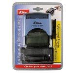 Shiny S-884 Tampon encreur personnalisé avec cassette d'encrage 5 lignes de texte Hauteur de caractère 3 mm / 4 mm (Import Royaume Uni) de la marque Shiny&Shiny image 1 produit