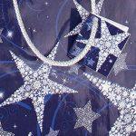 Sigel GT026 Lot de 5 sacs cadeaux Noël, 23 x 17 cm, bleu et blanc de la marque Sigel image 1 produit