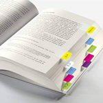 """Sigel HN203 Marque-pages rigides""""Tab Marker"""" en film transparent, 60 feuilles de 3,8 x 2,5 cm, 6 couleurs de la marque Sigel image 2 produit"""