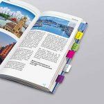 """Sigel HN203 Marque-pages rigides""""Tab Marker"""" en film transparent, 60 feuilles de 3,8 x 2,5 cm, 6 couleurs de la marque Sigel image 4 produit"""