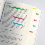 Sigel HN617 Marque-pages ou surligneurs de texte en film transparent, 400 feuilles de 5 x 0,6 cm, 5 couleurs de la marque Sigel image 1 produit