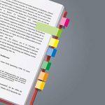 Sigel HN650 Marque-pages adhésifs en papier, 500 feuilles de 5 x 1,5 cm, 10 couleurs de la marque Sigel image 1 produit