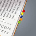 Sigel HN677 Marque-pages adhésifs en papier film transparent, 280 feuilles de 5 x 1,2 cm, 7 couleurs de la marque Sigel image 2 produit