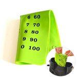 Silicone Alimentaire fausses Sets de table pour les tout-petits/bébés/enfants/enfants–100% sans BPA et Approuvé par la FDA–Ludique et éducatif Sets de table–30,5x 40,6cm, Vert en Jamhoo de la marque JamHoo image 3 produit