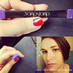 So-buts facile au maquillage Vamp Tampon œil de chat Wing Eyeliner Stamp Tool Kit de maquillage 1Seconde, Taille M de la marque SO-buts image 3 produit